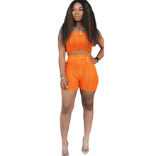 Autumn new best womens jumpsuit two-piece classic candy color sexy wild one-piece shorts suit