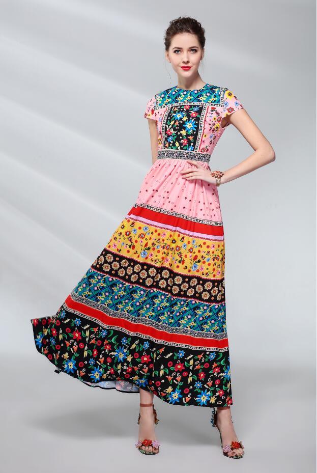 Fashion Dresses Accessories: Runway Dresses 2018 Plus Size Women Luxury Runway Dress