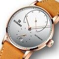 Schweiz BINGER Männer Uhr Luxus Marke Automatische Mechanische Herren Uhren Saphir Männlich Japan Bewegung reloj hombre B-1187-6
