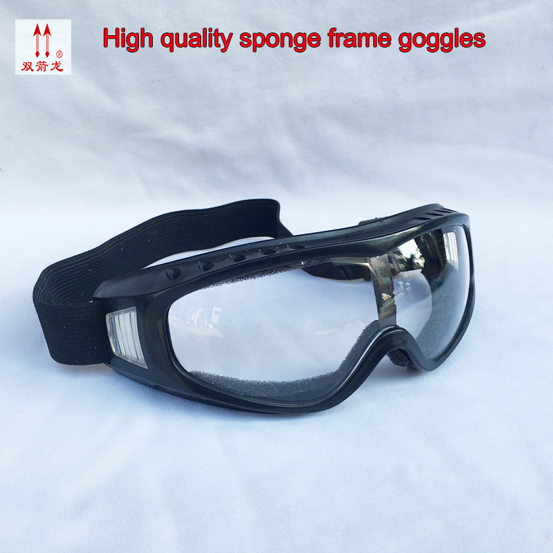 1PCS Sponge Frame Goggles Windproof Anti-shock Breathable Protective Glasses Riding Outdoor Labor Protection Safety Glasses