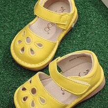 Обувь для маленьких девочек; пищалка; для детей 1-3 лет; ручная работа; сезон весна-лето; сандалии; nina sapatos; Забавная детская обувь