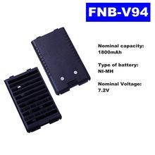 Аккумулятор для рации vertex standard ni mh 72 В 1800 мАч vx160/168/428/429