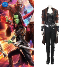 MANLUYUNXIAO Guardians of The Galaxy 2 Cosplay Costume Gamora Full Set Superhero Halloween Party Women Adult Custom Made