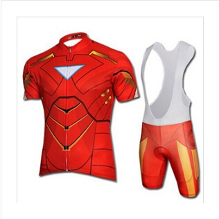 High Quality The Avengers Superman Cycling Jersey Short sleeve Spiderman  cycling clothes ciclismo Bike Jersey + cycling tight-in Cycling Jerseys  from Sports ... 08ea92042