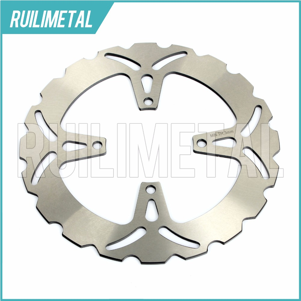 Rear Brake Disc Rotor for SUZUKI GSF 250 Bandit N 1990 1991 1992 1993 1994 1995 1996 Z GSX 250 F Across S-SS Katana 1991 91 rear brake disc rotor for ducati junior ss 350 m monster 400 ss supersport 1992 1993 1994 1995 1996 1997 92 93 94 95 96 97