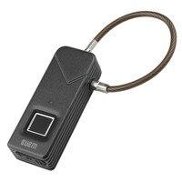 FL S2 Умный Замок аккумуляторная безопасной Дома Водонепроницаемый Портативный anti theft отпечатков пальцев электронного замка двери