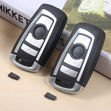 цена на 2Pcs Modified Flip Remote Key 4 Button 433MHz EWS PCF7935AA ID44 HU58 For BMW 325 330 318 525 530 540 E38 E39 E46 M5 X3 X5 E65