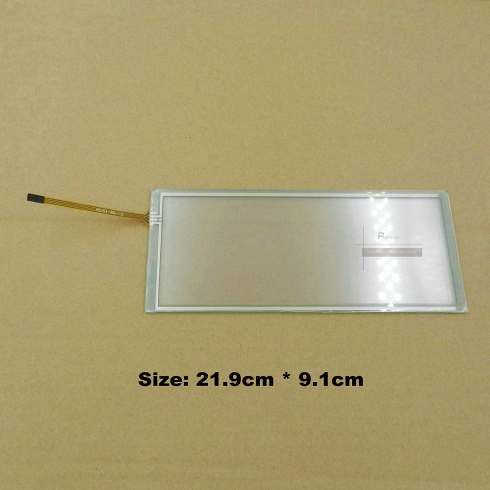 partstron 2 pecas touch screen fit para konica minolta bizhub 360 420 500 361 421 501