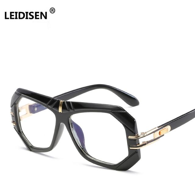 f69961309bb LEIDISEN Fashion Brand Glasses frames For Men Women Designer Clear Lens  Transparent Eyeglasses 2018 Male Eyewear
