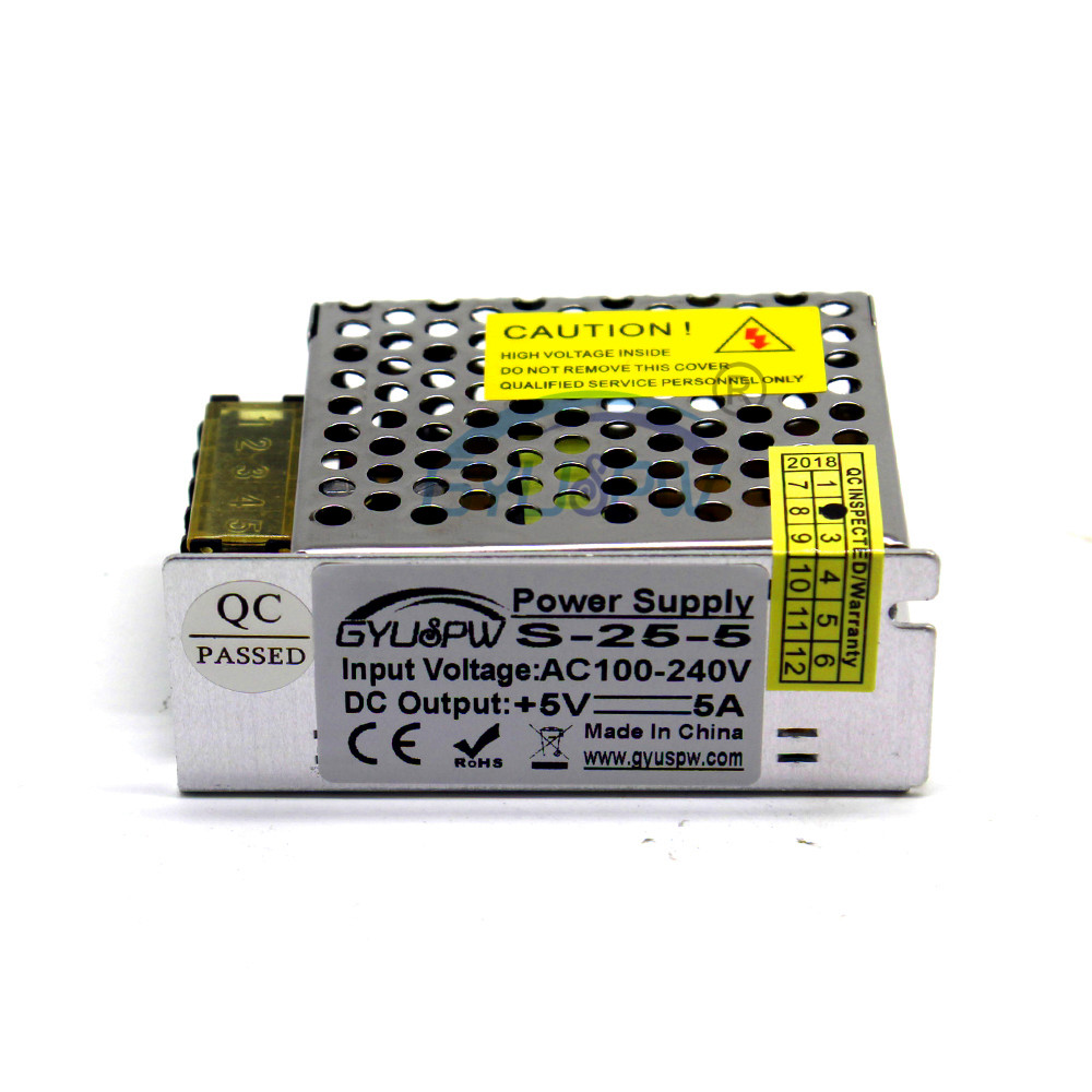 50W 5V 10A Small Volume Single Output Switching power supply