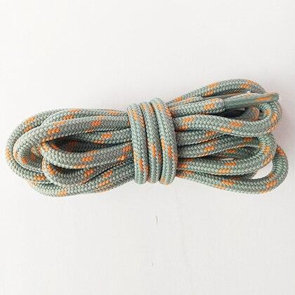 100-160 см спортивные круглые шнурки, 17 цветов, кроссовки, белые шнурки, спортивная обувь, шнурки, спортивная обувь, обувь для скейта, шнурки - Цвет: lightgray orange