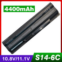 6Cell 4400mAh Laptop Battery For For Msi BTY S14 BTY S15 E2MS110K2002 GE620 GE620DX GE70 GE60