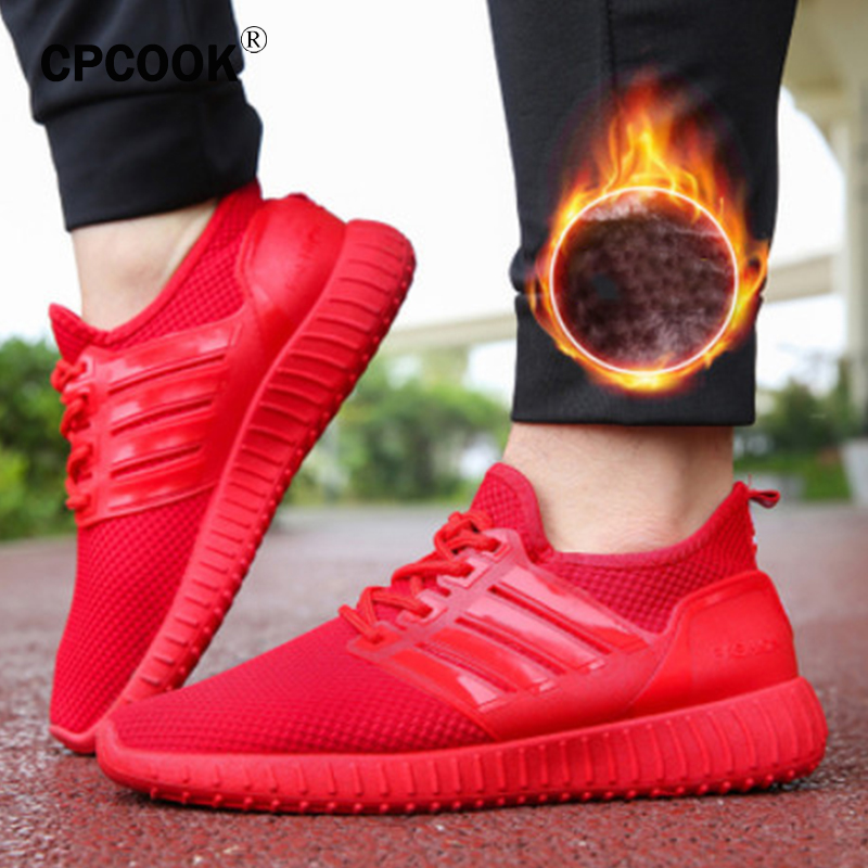 shop for luxury Good Prices best sale US $10.77 50% OFF|Hot Sell Men Womens Athletic Shoes Sport Sneakers Autumn  Winter Warm Running Shoes for Couples Black Red Gym Trainers Cheap-in ...