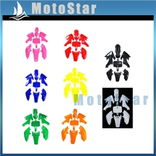 Plastic Fairing Body Kits For 50 70 90 110 125 140 150cc Chinese CRF50 XR50 Piranha SSR Thumpstar Stomp Coolster Pit Dirt Bike