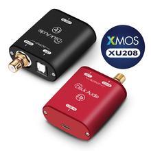 Nobsound Mini USB Optical Coaxial Converter XMOS 208 อินเทอร์เฟซดิจิตอลDSD DOP 192KHz