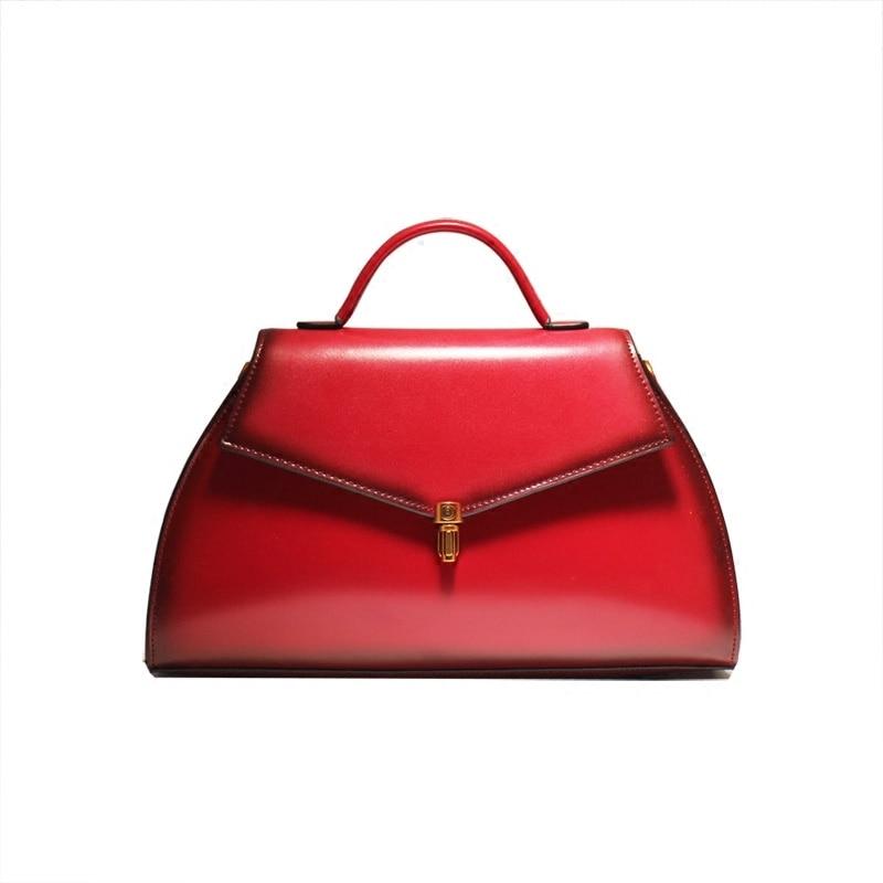 New Arrival Amasie Genuine Leather Solid Office Lady Fashion Bag Women Handbag Brand Design High Quality Sac Bolsas EGT0214 new brand esloth for ipad waterproof genuine leather bag high quality fashion multi use design 32cm 11cm 19cm female bag nb05