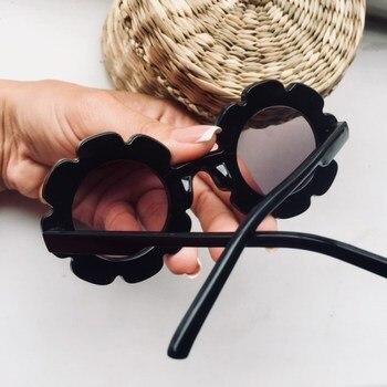 2018 Sun Flower kids sunglasses boys gir...