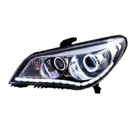 Running Automovil Styling Assessoires Parts Drl Exterior Automobiles Cob Led Auto Headlights Car Lights Assembly FOR MG 350