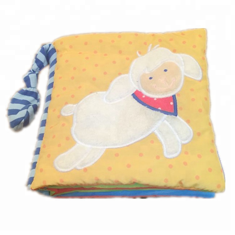 Baby Infant Plush Soft Book For Baby Early Education Cloth Book