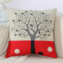 Trees decorative cushion covers