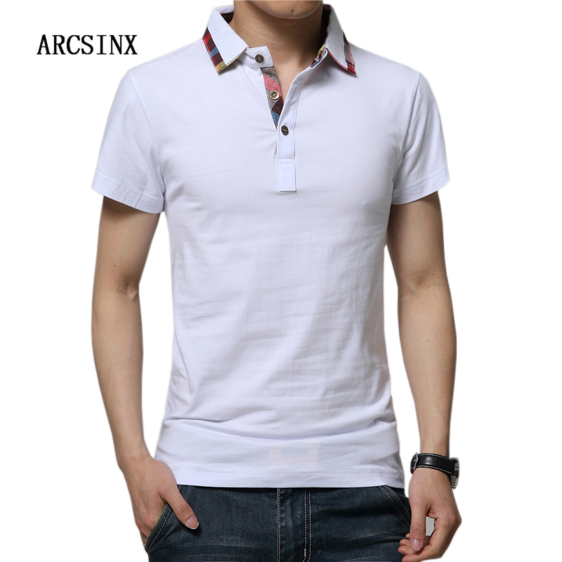 ARCSINX   Polo   Shirt Men Short Sleeve Mens   Polo   Shirts Cotton   Polo   Men Brand High Quality Summer Tee Shirt Men England   Polos