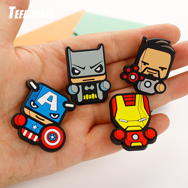 12pcs set Car Ornament Automotive Decor Cartoon Air Freshener For Marvel Avengers Hero Figures Air Condition Vent Outlet Clip in Air Freshener from Automobiles Motorcycles