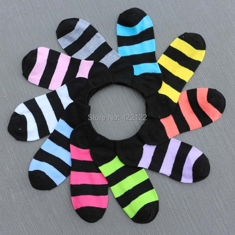 Warm comfortable cotton bamboo fiber girl women's socks ankle low female invisible  color girl boy hosiery 2pair=4pcs WS29