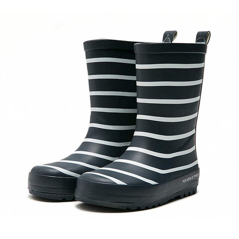 Child Boy Rain Boots Shoes Kid Boy Girl Rubber Shoe Anti Skid Natural Waterproof Rain Boots Environmental Protection Rain Shoes To Have Both The Quality Of Tenacity And Hardness