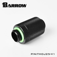 "Barrow G1/4 ""Micro Ajuste Telescópico Conjunto Conector de Encaixe THDJ25 V1
