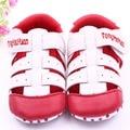 2 Цвета Детская Обувь Мальчики Девочки На Открытом Воздухе Кожа Дышащий Младенческой Первые Ходунки Малыша Обувь