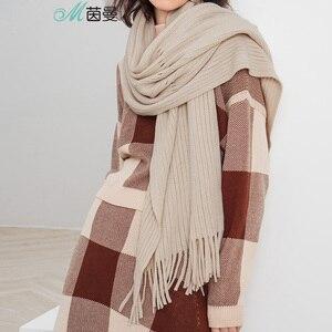 Image 3 - INMAN 1883140185 Schal Frauen Winter Kurze Korea Alle passenden Schal