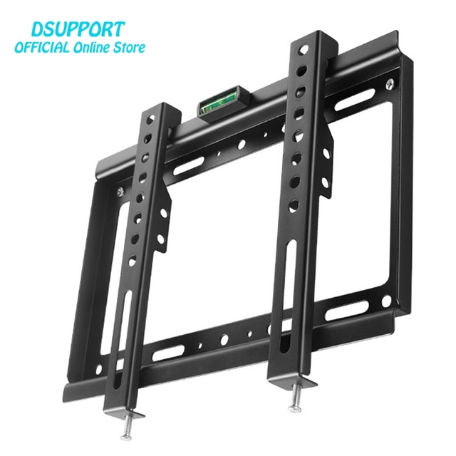 Universal Tv Wall Mount Black Bracket For Most 14 32 Inch Stand Mf32021
