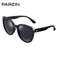 PARZIN Luxury Brand Polarized Sunglasses for Women Big Frame Vintage Sun Glasses Driving Mirror Summer Shades 2019