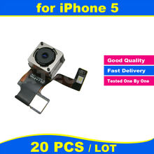 20pcs lot 8 0 MP High Quality for iPhone 5 5G Back Rear Camera Cam with