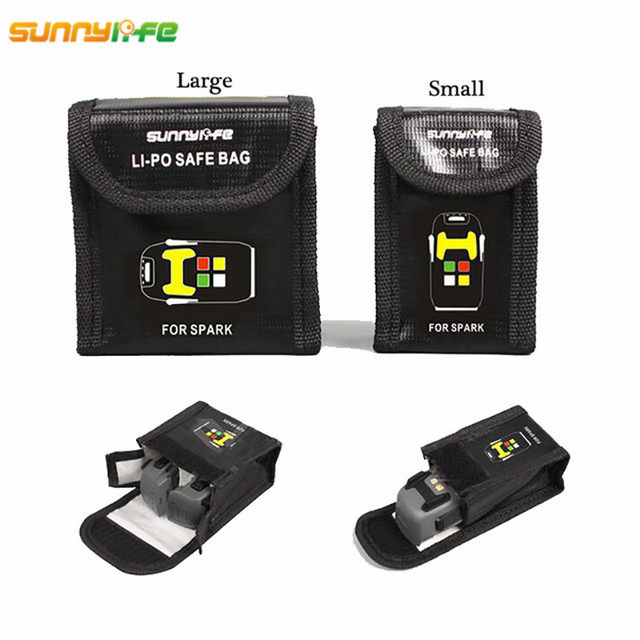 DJI SPARK Drone Lipo Battery Case Explosion-proof Safe Storage Bag Fireproof Protective Box Heat  sc 1 st  AliExpress.com & DJI SPARK Drone Lipo Battery Case Explosion proof Safe Storage Bag ...
