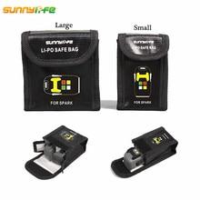 DJI SPARK font b Drone b font Lipo Battery Case Explosion proof Safe Storage Bag Fireproof