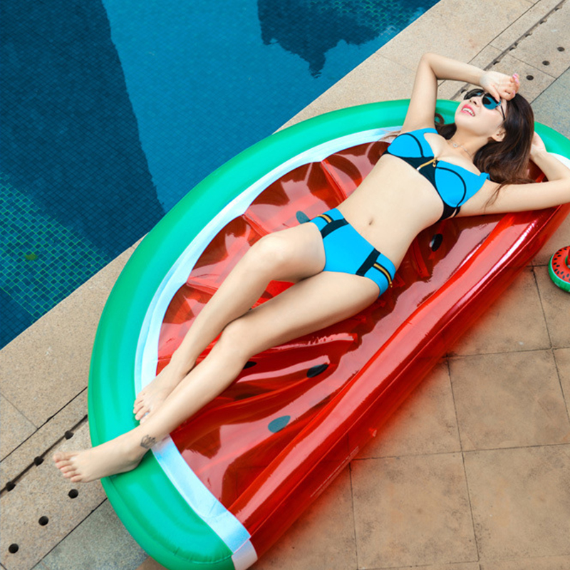 Inflatable Pool Float Giant Watermelon Floats Pineapple Swimming Ring Adult Water Toy boia piscina