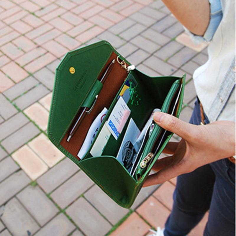 цена Mujer Women Wallet Clutch Wallet Female Case Phone Carteiras Femininas Money Bag онлайн в 2017 году