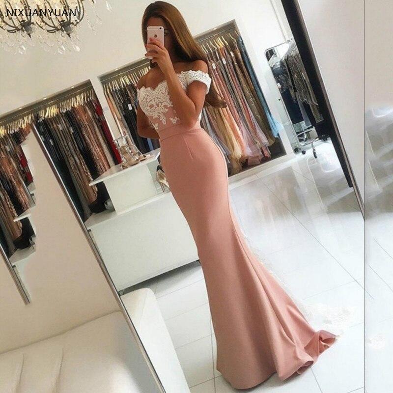 Robe De soirée femmes Robe formelle longue sirène robes De soirée femme robes roses formelle sur mesure