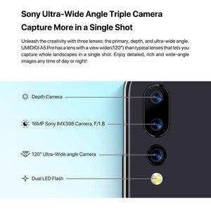 Image 2 - Global Version UMIDIGI A5 PRO Android 9.0 Octa Core โทรศัพท์มือถือ 6.3 FHD + 16MP Triple กล้อง 4150 mAh 4 GB RAM 32G Rom