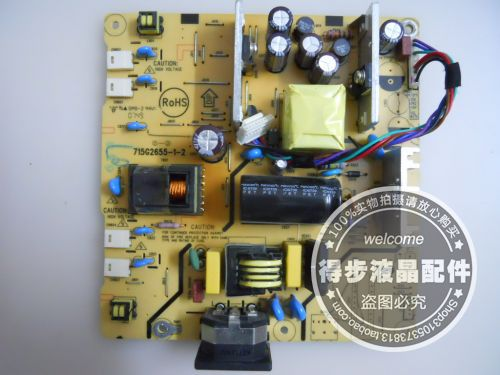 Free Shipping>Original  L1910 power board 715G2655-1-2 -powered board package test good Condition new-Original 100% Tested Worki free shipping original l1710 power board 715g2655 1 2 powered board package test good condition new original 100% tested worki
