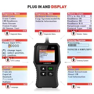 Image 4 - Launch Creader 319 OBD2 스캐너 자동차 코드 리더 OBDII OBD 2 스캔 도구 확인 엔진 오류 코드 읽기 cr319 CR3001 Creader 3001