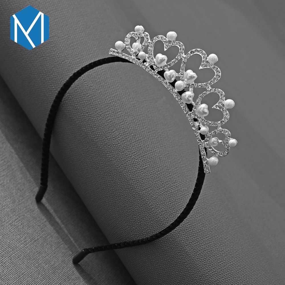 M MISM Лидер продаж милые женские ободки для девочек резинка для волос, принцессы корона головные уборы ободок для волос аксессуары