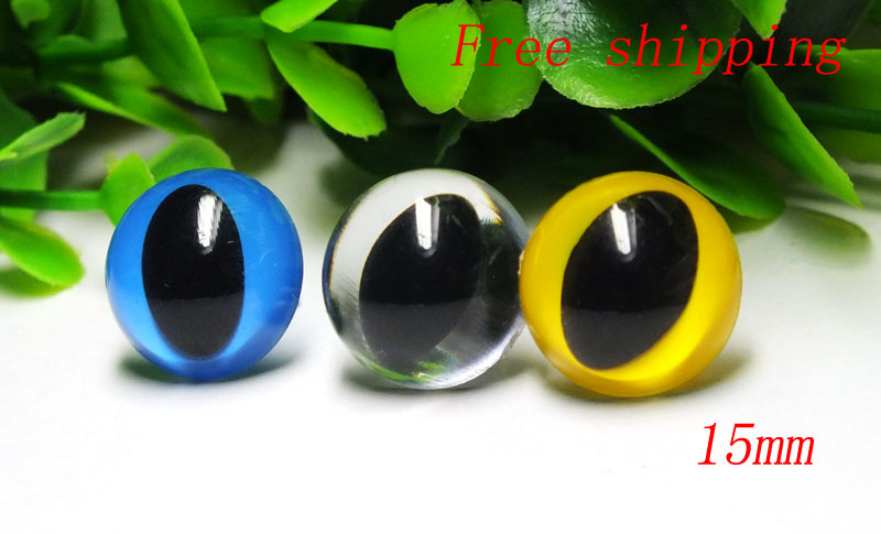 fress ship!!!18mm 4 colors Animal Eyes Safety Eyes CAT Eyes for ... | 485x800