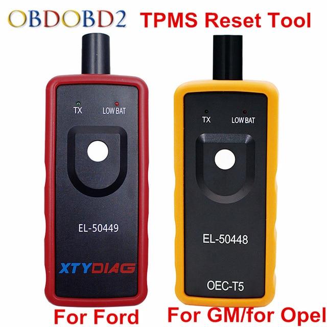 2018 EL50449 EL50448 TPMS Reset Tool EL-50449 For Ford EL-50448 For Opel For GM Automobile Tire Pressure Monitor Sensor Scanner