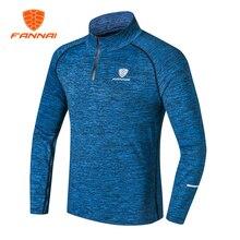 FANNAI 2017 Turtleneck Male T-shirt Long Sleeve Sweatshirt Basketballer Jersey Drying Breathable Asia Size Free Shipping