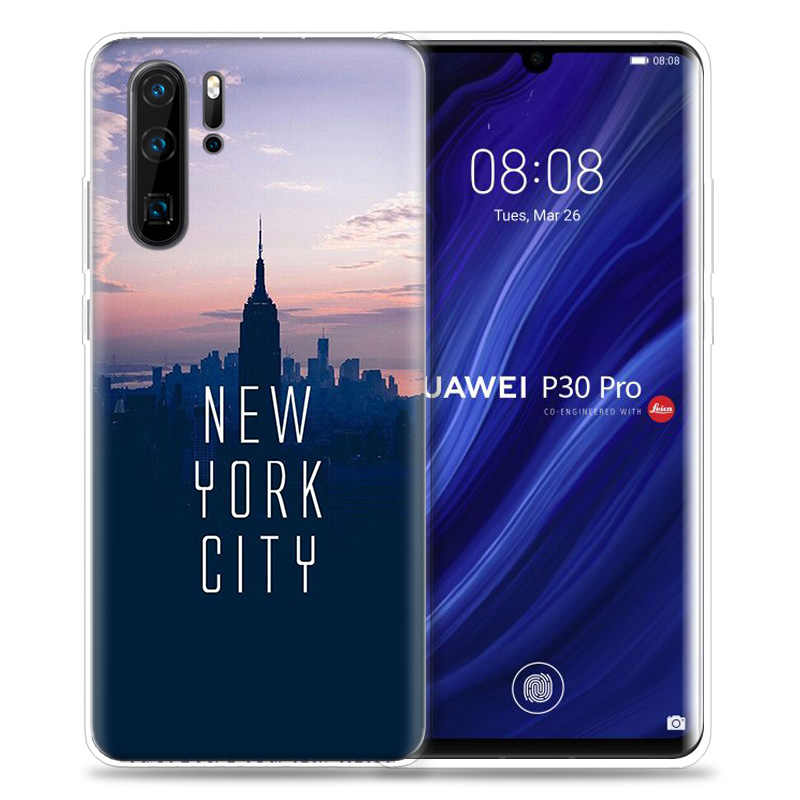 Чехол для huawei P20 P30 P Smart Z Plus 2019 Nova 5 5i P10 P9 mate 10 20 lite Pro силиконовый чехол для телефона Fundas Capa