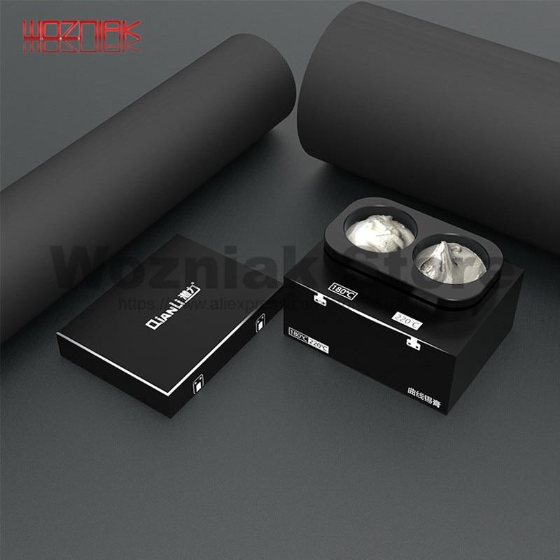 QIANLI All-metal Tin Paste Box Maintenance Of LED Welding BGA Motherboard Low Temperature Tin Paste Solder Paste