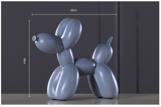 HTB1ayELmlsmBKNjSZFsq6yXSVXaT.jpg 640x640 - new-arrivals, decor, collectibles - Jeff Koons Inspired Balloon Dog