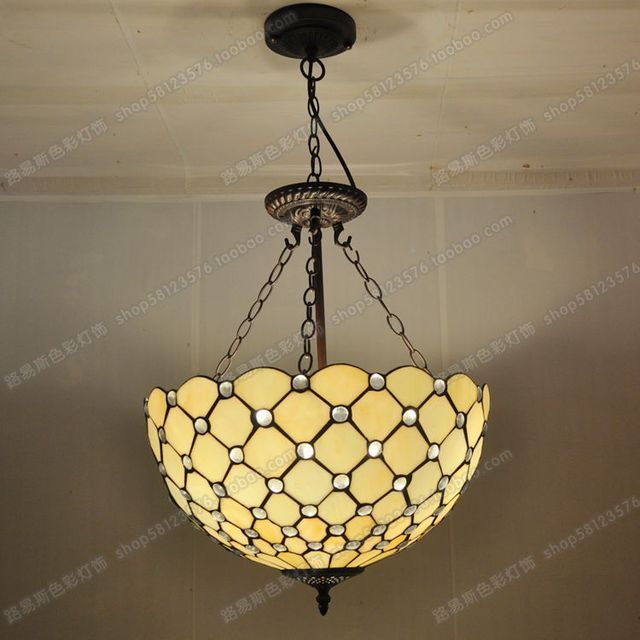40cm anti retro minimalist chandelier crystal beads tiffany glass 40cm anti retro minimalist chandelier crystal beads tiffany glass lighting bar lamps bedroom living room aloadofball Choice Image
